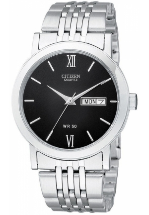 Citizen Men's Quartz Watch in Stainless Steel