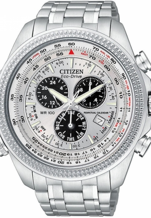 Citizen Men's Eco-Drive Stainless Steel Sport Watch with Link Bracelet