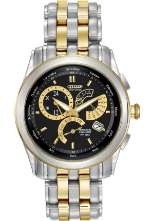 Citizen Men's Eco-Drive Calibre 8700 Two-Tone Stainless Steel Watch