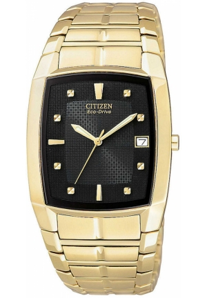 Citizen Men's Eco-Drive Gold-Tone Stainless Steel Watch