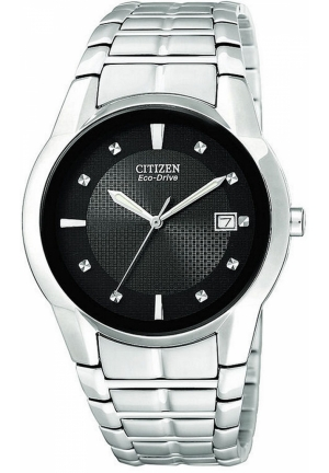 CITIZEN Men's Eco-Drive Stainless Steel Bracelet