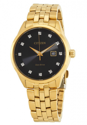 Corso Diamond Black Dial Men's Watch