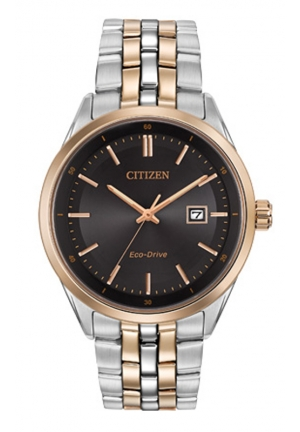 Citizen Men's Contemporary Eco-Drive Two-Tone Stainless Steel Bracelet Watch