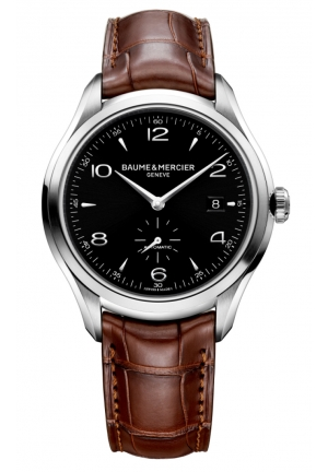 BAUME & MERCIER Clifton Analog Display Swiss Automatic Brown Watch 41MM