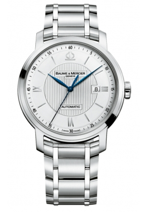 BAUME & MERCIER Classima Silver Dial Stainless Steel Mens Watch 42MM