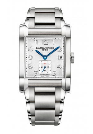 BAUME & MERCIER Silver Dial Automatic Mens Watch 45 mm x 32 mm