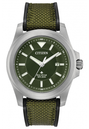 Promaster Tough Green Dial Green Fabric Men's Watch
