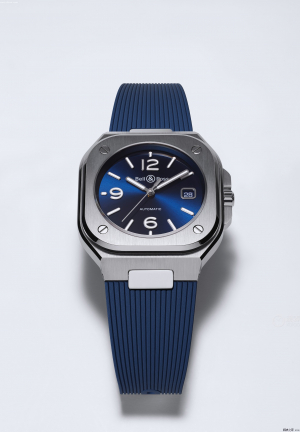 Bell & Ross BR05 Blue Steel Rubber