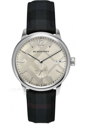 Men's Burberry Classic Round Watch