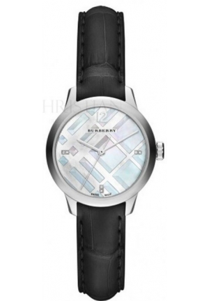 BURBERRY THE CLASSIC ROUND DIAMOND INDEXES 32mm