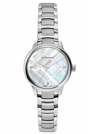 The Classic Round Silver Dial Stainless Steel BU10110
