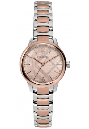 THE CLASSIC ROUND TWO-TONE STAINLESS STEEL TIMEPIEC 32MM