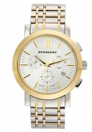 BURBERRY CHRONOGRAPH WATCH BU1374, 40MM