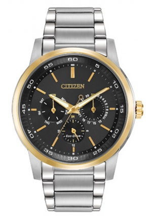 Citizen Men's Eco-Drive Two-Tone Bracelet Watch