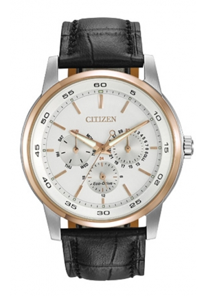 Citizen Men's Dress Analog Display Japanese Quartz Black Watch