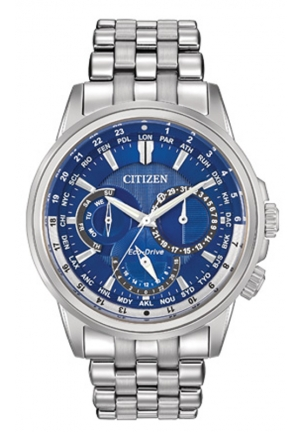 Citizen Men's Calendrier Stainless Steel Watch