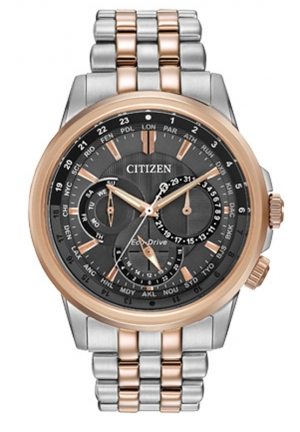 Citizen Men's Calendrier Eco-Drive Two-Tone Stainless Steel Bracelet Watch