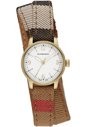 Women's Swiss House Check Double Wrap Strap Watch 30mm