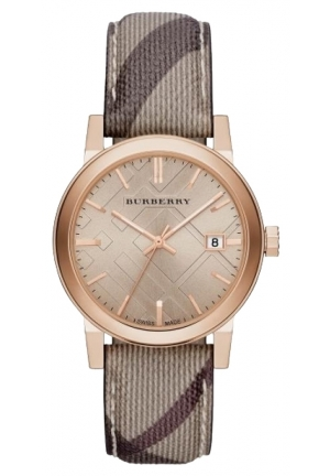 BURBERRY THE CITY ROSE GOLD FACE 38mm