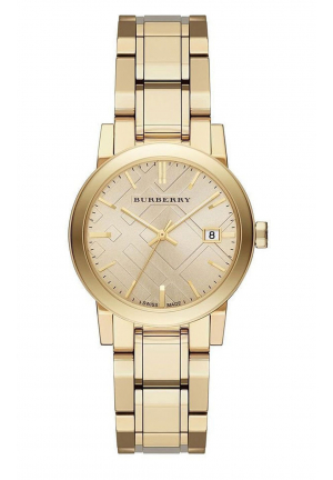 BURBERRY LIGHT CHAMPAGNE DIAL BU9134, 34MM