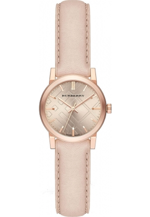 THE CITY HERITAGE BEIGE DIAL STAINLESS STEEL CASE LADIES WATCH , 26MM
