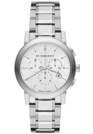 Women's Swiss Chronograph The City Stainless Steel Bracelet 38mm