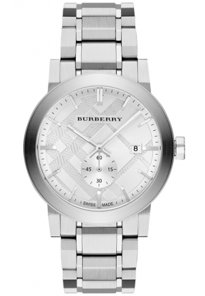 BURBERRY Men's Swiss Stainless Steel Bracelet Watch 42mm