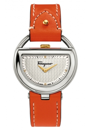 BUCKLE Analog Display Quartz Orange Watch 37mm