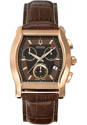 BULOVA ACCUTRON Men's Accutron Bulova Stratford Watch 37mm 64B112
