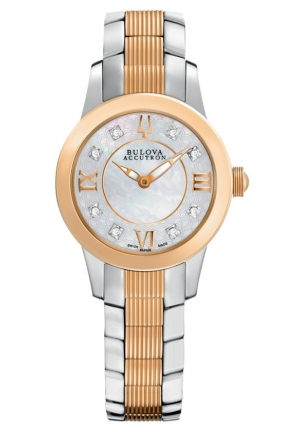 BULOVA ACCUTRON Women's Masella Watch 28mm 65R152