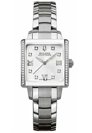 BULOVA ACCUTRON Women's Swiss Stainless Steel Bracelet 13mm