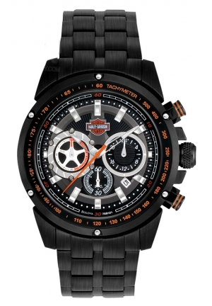 BULOVA Harley-Davidson® Men's Bracelet Chronograph Watch 42mm