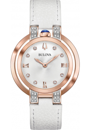 BULOVA RUBAIYAT DIAMOND WOMEN WATCH 35MM