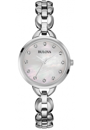 BULOVA Stainless Steel Bracelet Watch 28mm