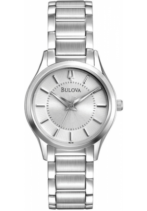 BULOVA Women's Stainless Steel Bracelet 28mm