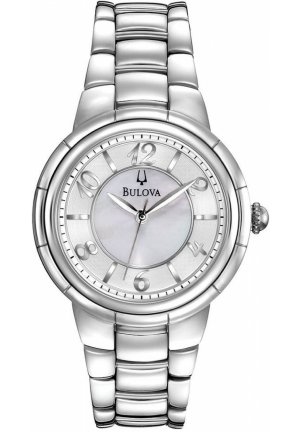 BULOVA Women's Stainless Steel Bracelet 34mm