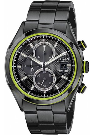 CITIZEN Mens Eco-Drive HTM 2.0 Chronograph Watch 40mm