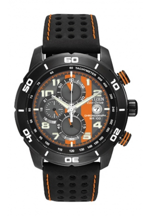 "Citizen Men's Eco-Drive ""Primo"" Chronograph Sport Watch"