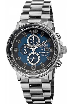 Men's Chronograph Nighthawk Titanium Bracelet 42mm