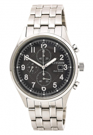 Chandler Black Dial Men's Chronograph Watch