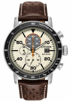 Brycen Chronograph Light Brown Dial Men's Watch