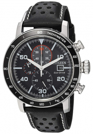 Brycen Chronograph Black Dial Men's Watch