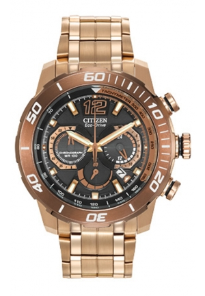 Citizen Men's Primo Stingray 620 Analog Display Japanese Quartz Rose Gold Watch
