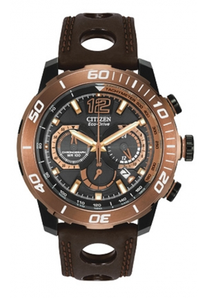 Citizen Men's Primo Stingray 620 Analog Display Japanese Quartz Brown Watch