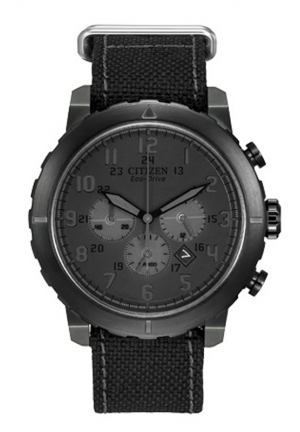 Citizen Men's Military Analog Display Japanese Quartz Black Watch