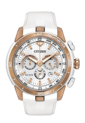 Citizen Women's Victoria Azarenka Ecosphere Limited Edition Analog Display Japanese Quartz White Watch