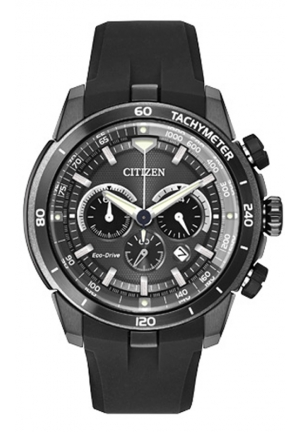 Citizen Men's Ecosphere Analog Display Japanese Quartz Black Watch