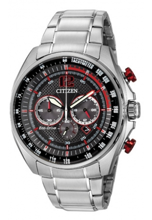 Citizen Men's Drive from Citizen Eco-Drive Silver-Tone Watch