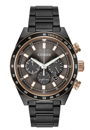Citizen Men's Sport Chronograph Analog Display Japanese Quartz Grey Watch