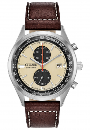Chandler Eco-Drive Chronograph Men's Watch